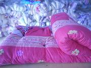 Продам одеяла,  подушки,  матрацы,  КПБ эконом для рабочих и строителей